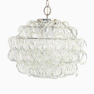 Lámpara de araña Giogali de Angelo Mangiarotti para Vistosi