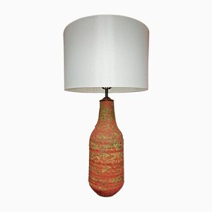 Hand-Thrown Terracotta Lamp