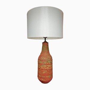 Handgemachte Terracotta Lampe