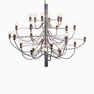 Lámpara de araña 2097/30 de Gino Sarfatti para Arteluce