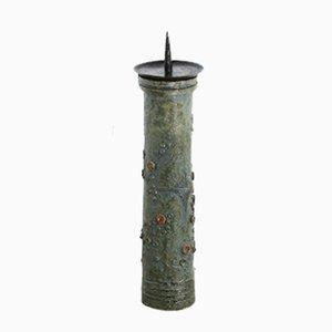 Belgischer Keramik Kerzenständer, 1960er