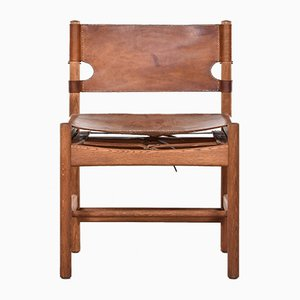 Mid-Century Model 3251 Hunting Chair by Børge Mogensen for Fredericia