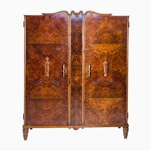 Italian Armoire by Tomaso Buzzi for Il Labirinto, 1930s