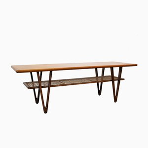 Mid-Century Modern Danish Teak Coffee Table, 1950s