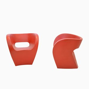 Victoria and Albert Chairs by Ron Arad for Moroso, 2000, Set of 2