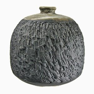 Stoneware Vessel by Ishmael Soto