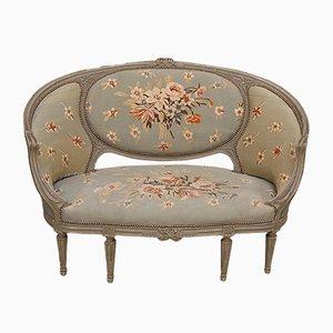 Schwedisches Sofa in Badewannenform, 1830