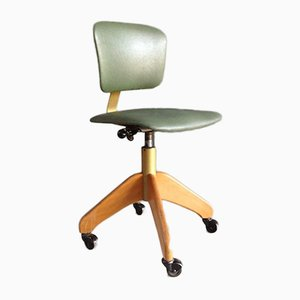 Bürostuhl aus Kunstleder von Stoll, 1960er