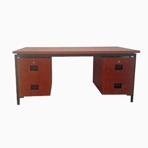 Niederländischer Schreibtisch aus Teakholz & Metall von Cees Braakman für Pastoe, 1960er