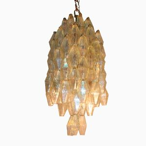 Italian Chandelier by Carlo Scarpa for Venini, 1950s