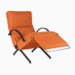 Italian P40 Armchair by Osvaldo Borsani for Tecno, 1950s