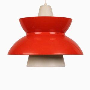 Lámpara colgante Doo Wop danesa de Henning Klok para Louis Poulsen, años 60