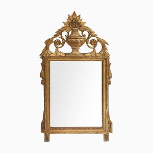 Antique French Gilt Wood Mirror