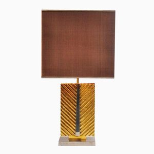 Lampada da tavolo in ottone di Maison Bagues, Francia, anni '70