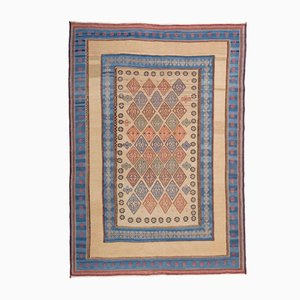 Middle Eastern Embroidered Kilim Rug from FJ Hakimian, 2002