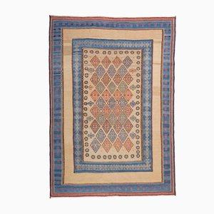 Tappeto persiano Kilim ricamato