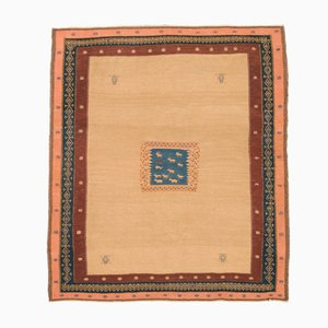 Kilim persa bordado