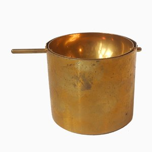 Cylinda Brass Ashtray by Arne Jacobsen for Stelton, 1960s