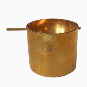 Cylinda Messing Aschenbecher von Arne Jacobsen für Stelton, 1960er