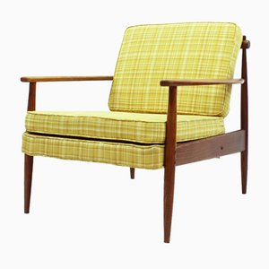 American Ash Easy Chair, 1950s