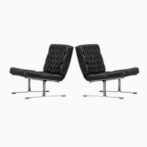 F60 Easy Chairs by Karl-Erik Ekselius for JOC, 1960s, Set of 2