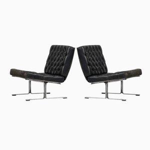 F60 Easy Chairs by Karl-Erik Ekselius for JOC, 1960s, Set of 2