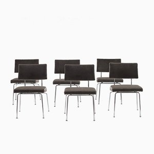Belgian Dining Chairs by Kruithof & Goovaerts, 1952, Set of 6