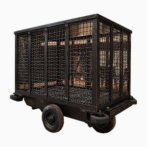 Vintage Fabrik Transportwagen