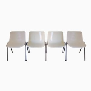 Modus Dining Chairs by Osvaldo Borsani for Tecno, 1970s, Set of 4