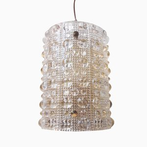 Large Mid-Century Crystal Sconce by Carl Fagerlund for Orrefors