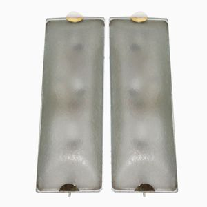 Italian Model 1939 Sconces by Max Ingrand for Fontana Arte, 1960s, Set of 2