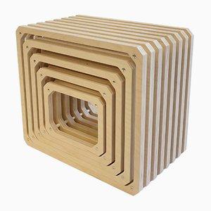 Scaffale modulare parallelo di Studio Lorier