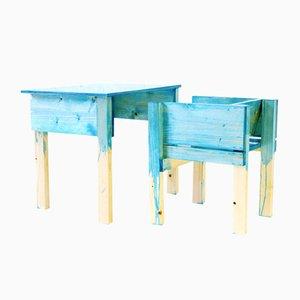 Dutch Desk and Chair by Lucas Maassen & Sons for kinder MODERN, 2013