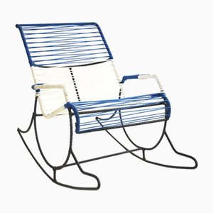 American Rebar String Rocking Chair, 1950s