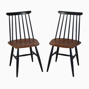 Fanett Dining Chairs by Ilmari Tapiovaara for Edsby, Set of 2