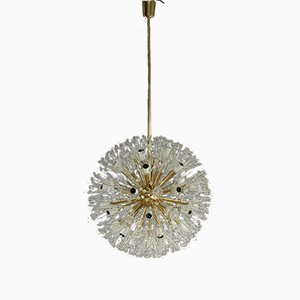 Large Snowball Chandelier by Emil Stejnar for Robert Nikoll, 1950