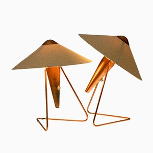 Table Lamps by Helena Frantova for Okolo, 1953, Set of 2
