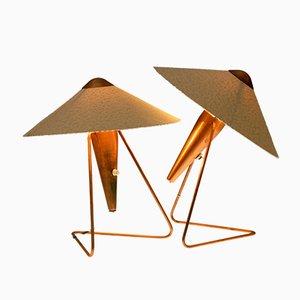 Tischlampen von Helena Frantova für Okolo, 1953, 2er Set