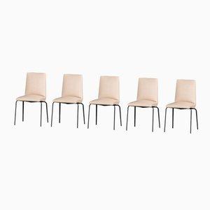 Mid-Century Esszimmerstühle von Pierre Guariche für Meurop, 5er Set