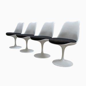 Fest Stehende Stühle von Eero Saarinen für Knoll International, 1980er, 4er Set