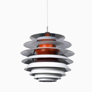 Mid-Century Danish pH Kontrast Pendant Lamp by Poul Henningsen for Louis Poulsen, 1960s