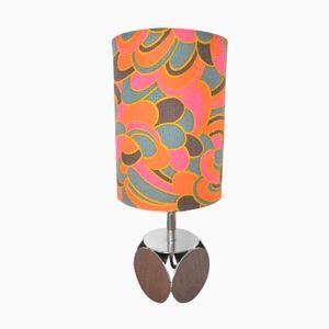 Flower Power Tischlampe, 1960er
