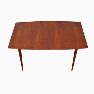 Mid-Century Extendable Boat-Shaped Dining Table from McIntosh