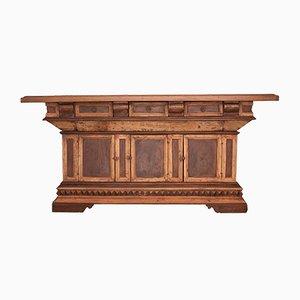 Antiker Italienischer Holz Schrank