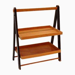 Porte-Revues Pliable ou Table avec Plateau Vintage, Pays-Bas