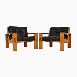 Bonanza Easy Chairs by Esko Pajamies, Set of 2