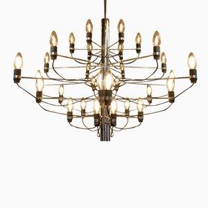Lámpara de araña de Gino Sarfatti para Arteluce, años 50