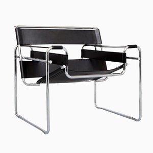 Vintage Wassily Armlehnstuhl von Marcel Breuer für Knoll International