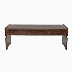 Small Swedish Rosewood Console Table