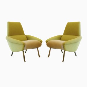Vintage Sabena Armchairs, 1980s, Set of 2